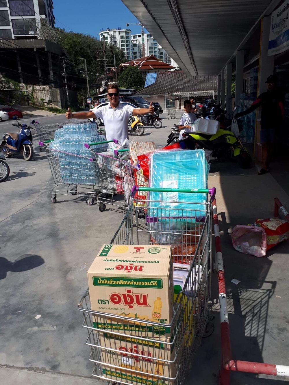 Barnhem i Thailand fick hjälp av svenskar.