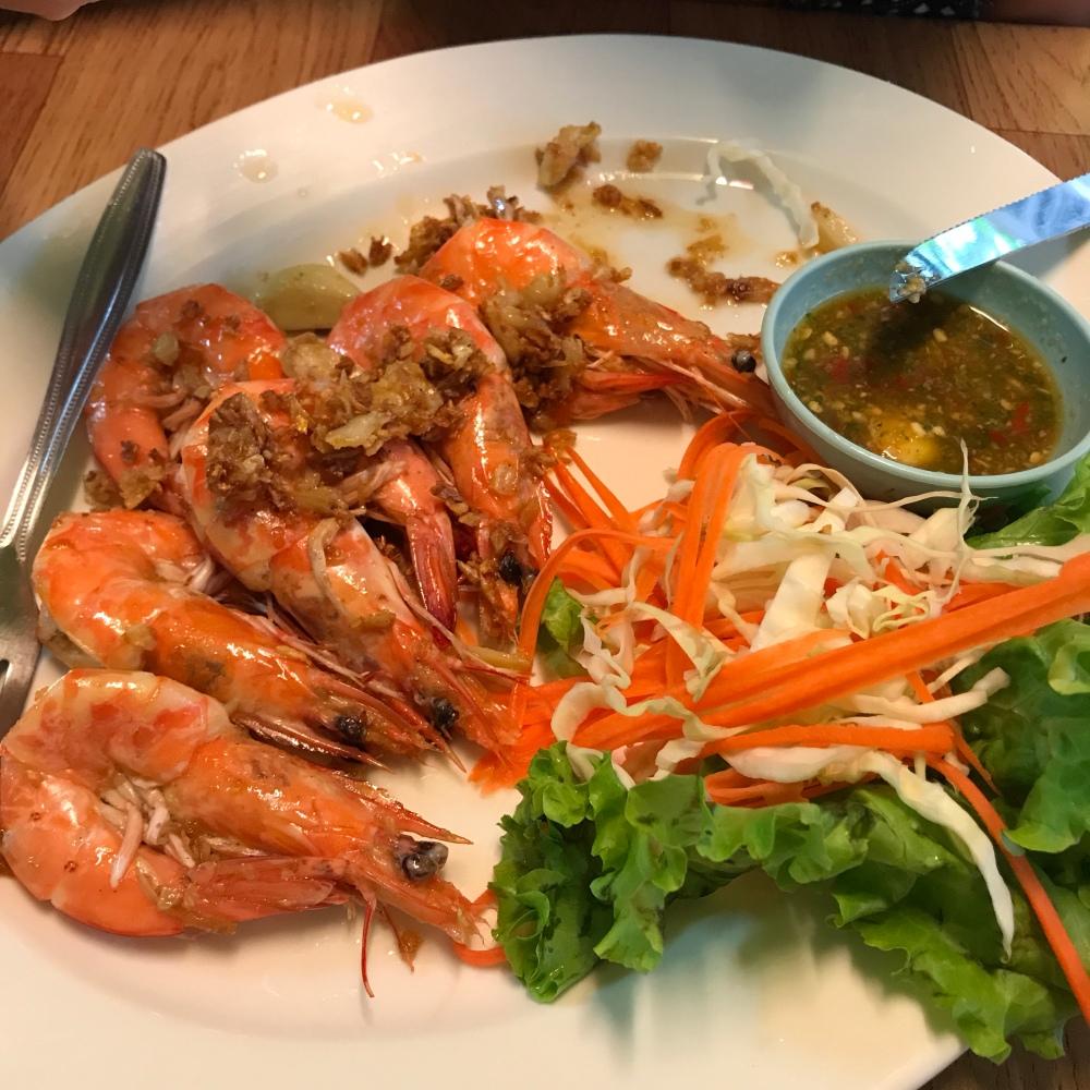 Kamala Beach har många bra restauranger.
