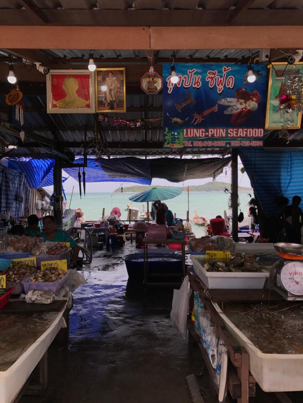 Marknad i Rawai