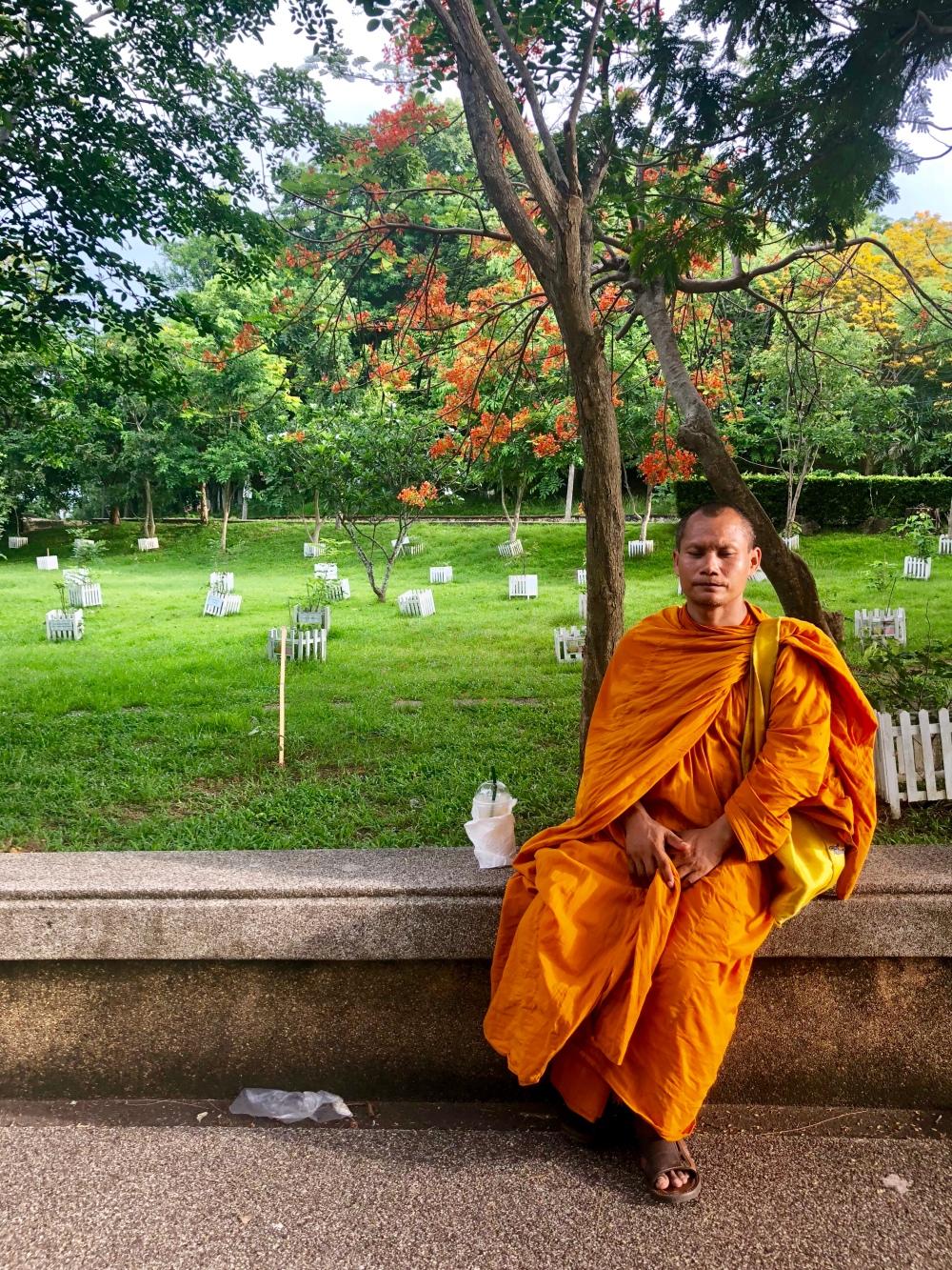 En munk vid Promteph cape